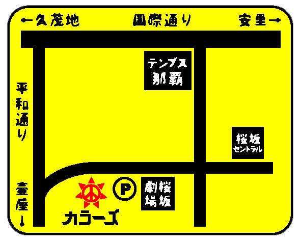Colours-map